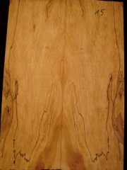 e-guit 015 spalted maple droptop thickness 8mms  €30,--