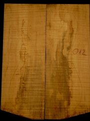 e-guit 012  spalted flame maple thickness 15mms € 50,--