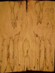 e-guit 013  spalted maple droptop  thickness 8mms €40,--