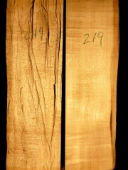 219a Tonewood Violin 2008 split bridge wood  € 50,--